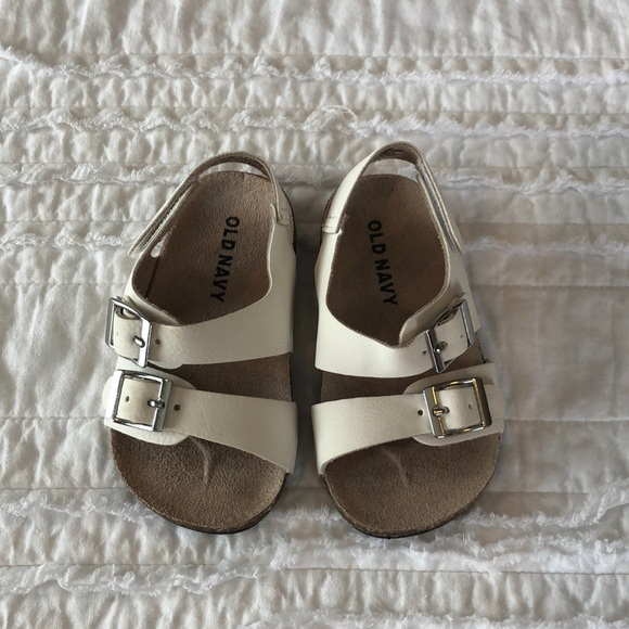 Old Navy Shoes White Sandals Baby Toddler Girl Old Navy 5 Poshmark